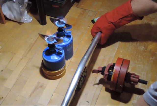 Как гнуть трубу из алюминия
