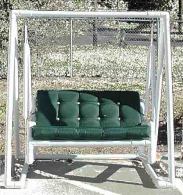 Садовая мебель своими руками из труб пвх своими руками