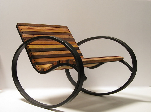 Сделать стул из металлических труб