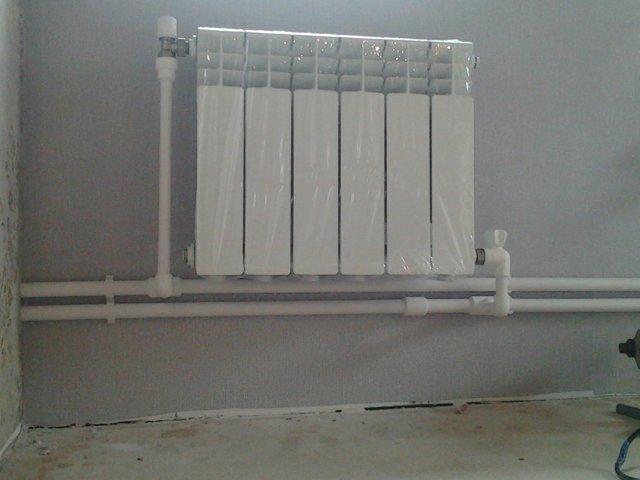 Сборка системы отопления из полипропиленовых труб
