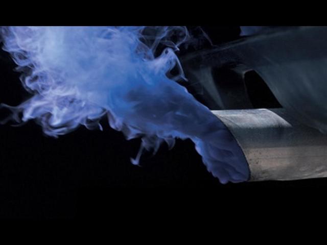 Синий дым из выхлопной трубы ваз 21213