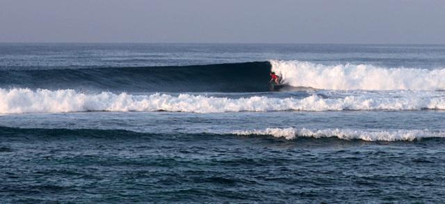 Серфинг по волне в трубе