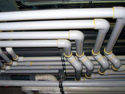 Диаметр труб при устройстве водопровода