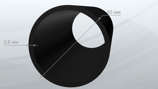 Полиэтиленовые трубы диаметр 110 160