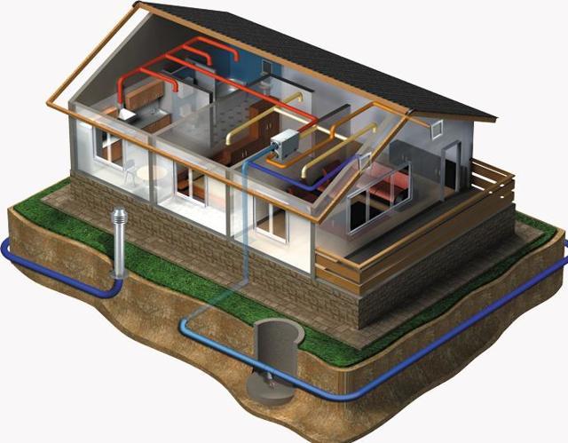 Сечение труб для вентиляции частного дома