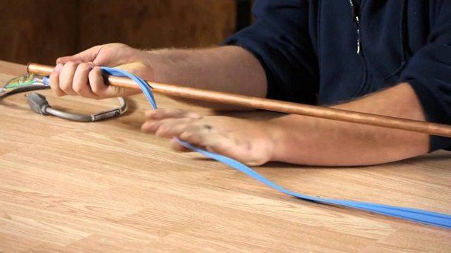 Диаметр стальных труб для электропроводок