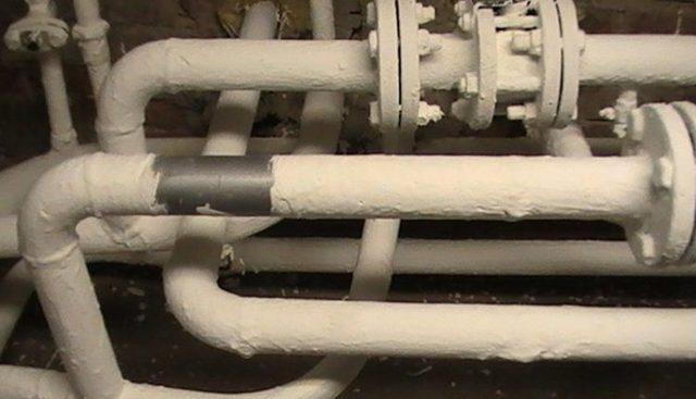 Холодная изоляция трубопроводов это